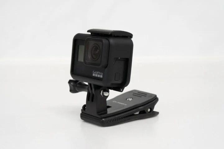 GoProのクリップマウント
