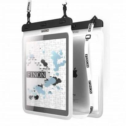【FINON】iPad Proをお風呂でも!タブレット防水ケース