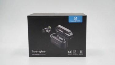 【レビュー】SoundPEATSの完全ワイヤレスイヤホン「Truengine」デュアルドライバーを搭載