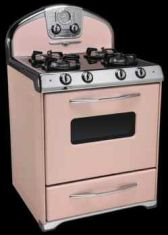 stoves came in pink ... eh-em they're back again