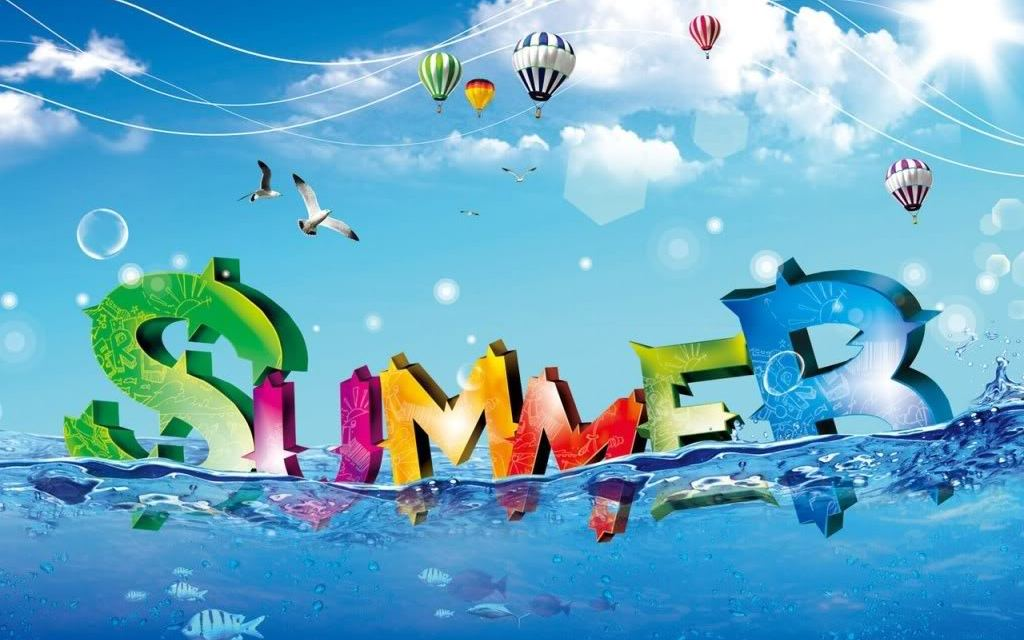 Summer … I Welcome You Into My Eager Embrace