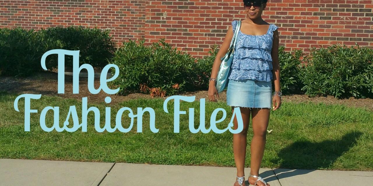 The Fashion Files… A Caribou Blue Saturday
