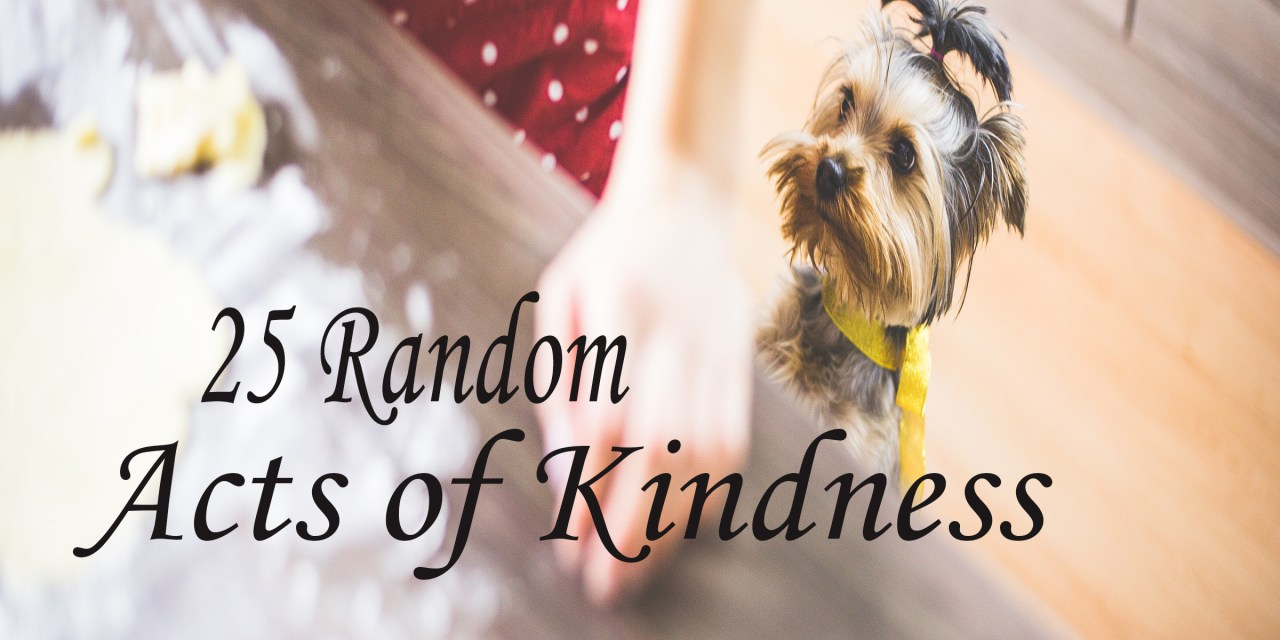 25 Random Acts of Kindness