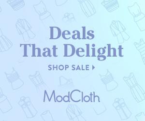 LiWBF's Fab Brands… Modcloth's Huge End of Season Sale