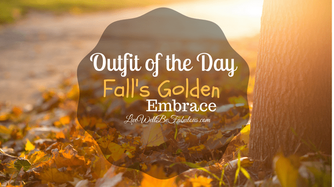 #OOTD Fall's Golden Embrace