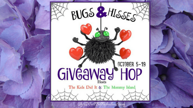 Welcome to the 2016 Bugs & Hisses Giveaway Hop
