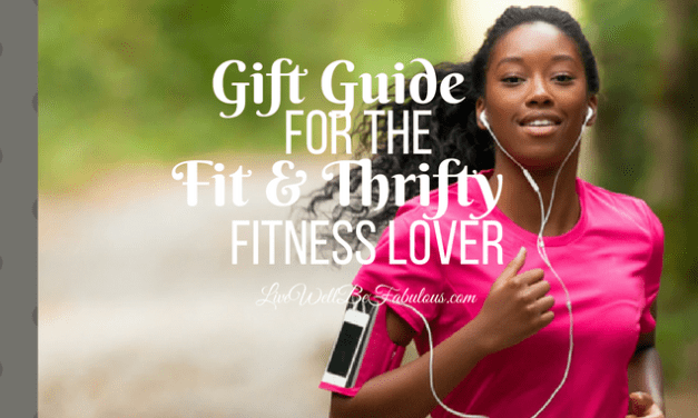 Gift Guide For the Fit & Thrifty Fitness Lover
