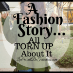 A Fashion Story All Torn Up About It