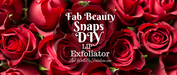 Fab Beauty Snaps DIY Lip Exfoliator