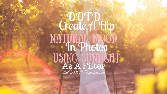 OOTD Create A Hip Natural Mood Using Sunlight As A Filter