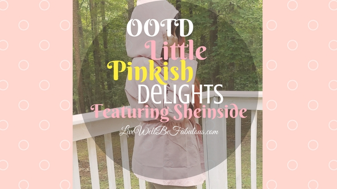 OOTD Little Pinkish Delights Featuring Sheinside
