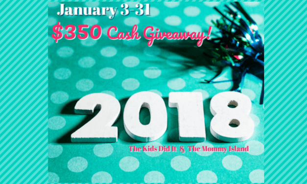 The 2018 $350 January Cash Giveaway