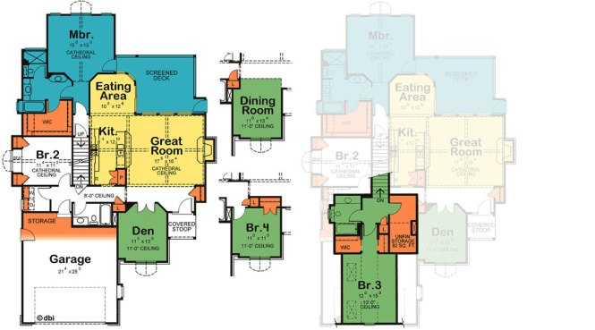 House Plans With Downstairs Master Bedroom Main Floor