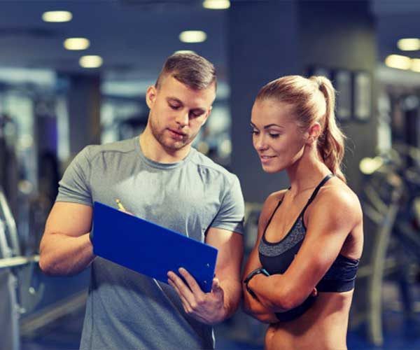 Get a personal trainer