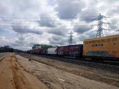Train clouds