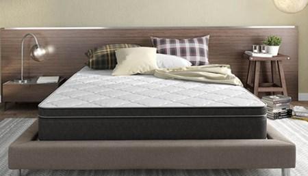 Instant Comfort Mattress in a bedroom