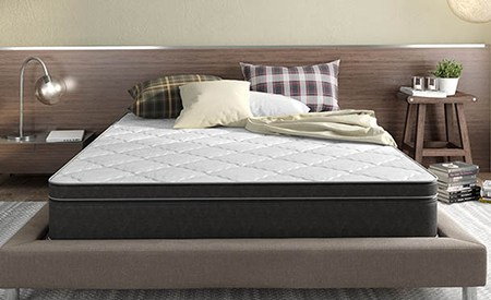 Instant Comfort Mattress in a bedroom
