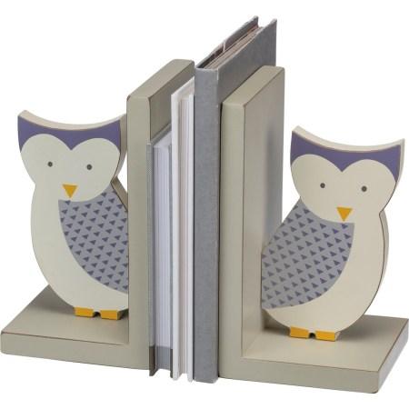 vintage bookends owl