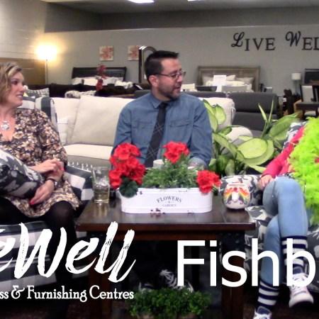 Javier Casillas, Gretchen Casillas, and Melanie Keithley from Live Well Mattress & Furnishing Centres