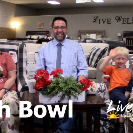 Javier Casillas, Gretchen Casillas and Melanie Keithley on Live Well Mattress & Furnishing Centres Fishbowl podcast
