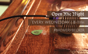 BREWERY BECKER | Open Mic Night | Every Wednesday | Brighton MI_small