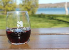 Black Star Farms_Red Wine_Synchronicity Gallery_Stemless Glasses-lake vacation leelanau-IMG_2111
