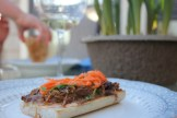 Banh Mi pulled pork sandwich