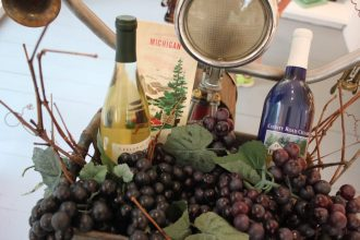 Synchronicity Gallery_Glen Arbor_Michigan Wine Tours Recaimed Vintage Bicycle-IMG_2474