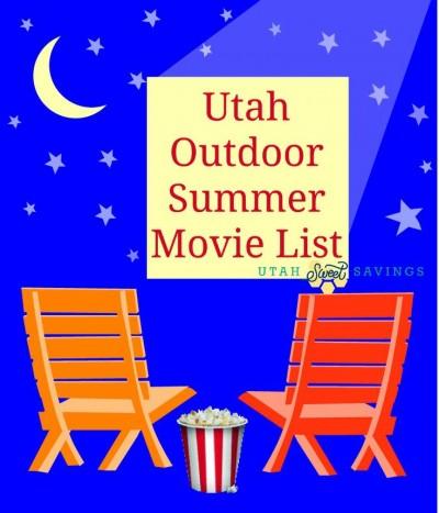utah outdoor summer movie list