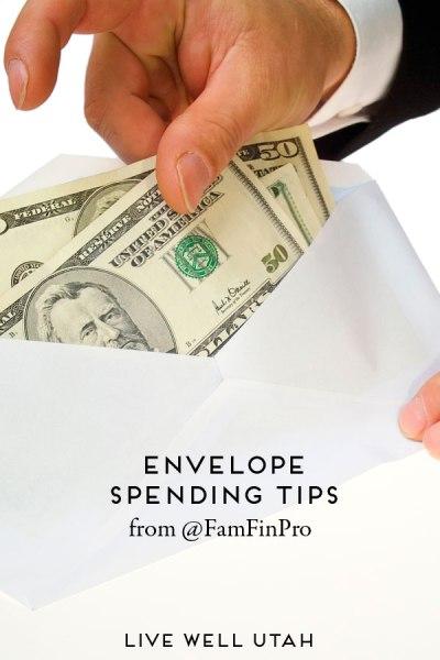 Envelope Spending Tips from @FamFinPro