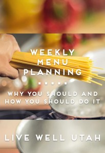 Weekly Menu Planning