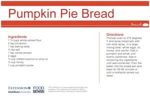 Pumpkin Pie Bread