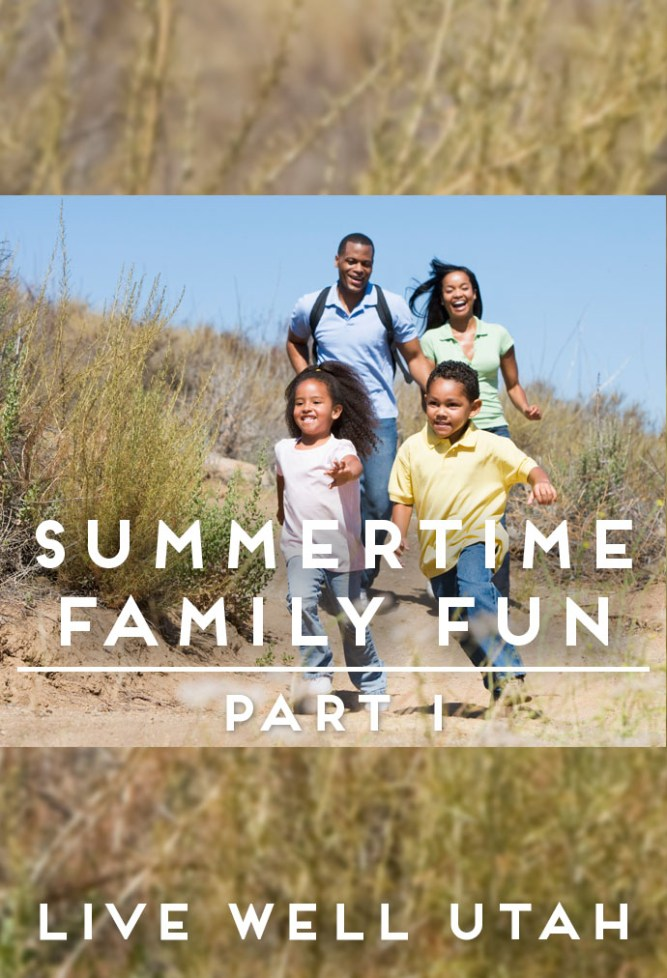Summertime Family Fun Graphic