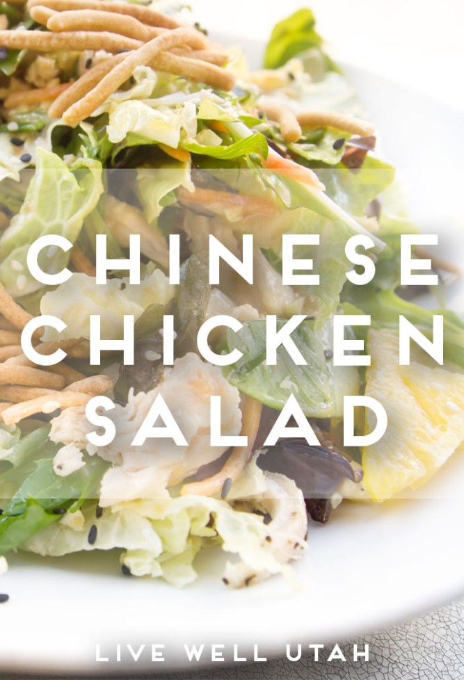 chinese chicken salad graphic