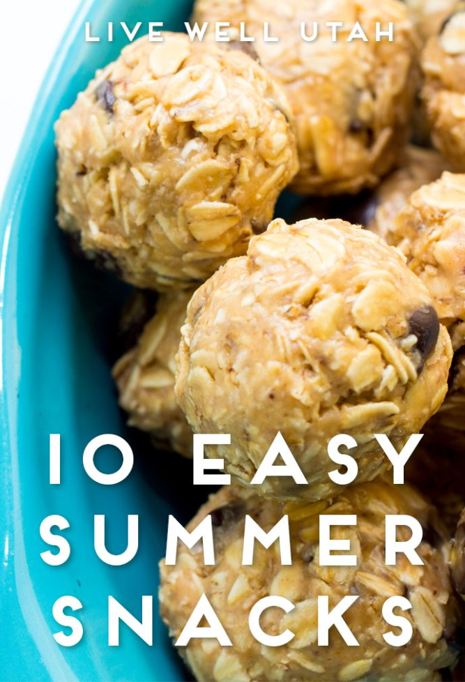 Easy Summer Snacks