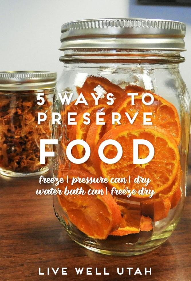 preserve food
