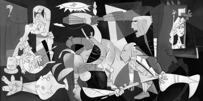 'Guernica' by Picasso Credit: Reuters