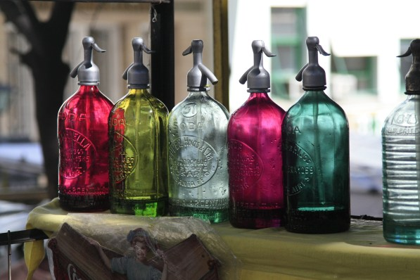 antique version of the cool sparkling water dispensers