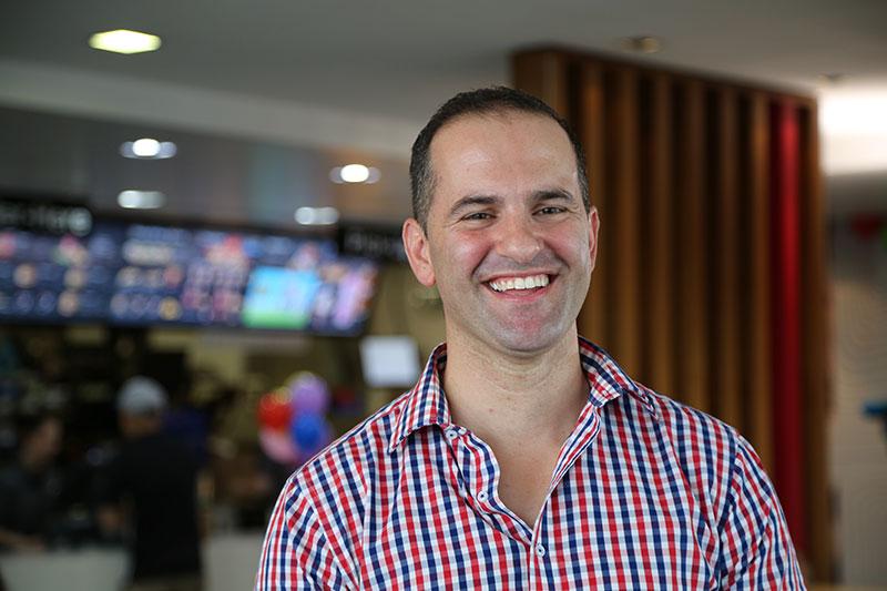 Daniel Zammit, Owner Operator McDonald's Scone