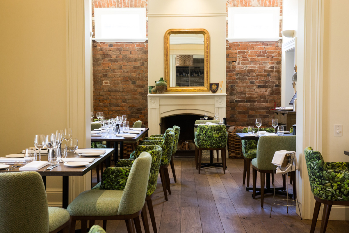 The beautifully restored, award winning restaurant in Kelly Street, The Cottage