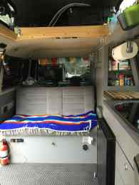 VW Vanagon custom interior