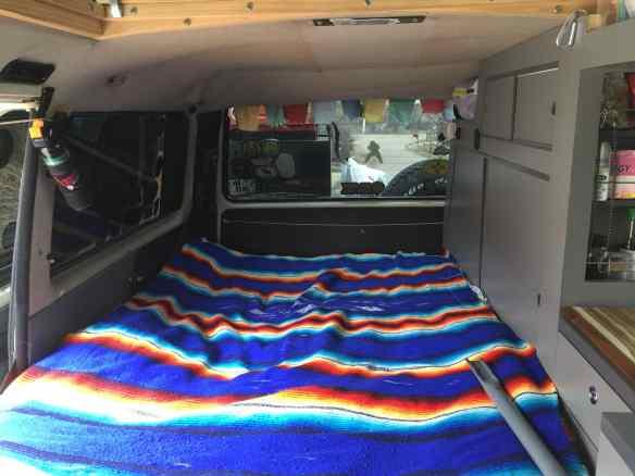 Bed in VW Vanagon