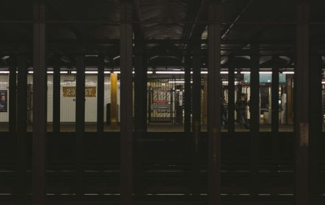 23rd St Subway Station NYC
