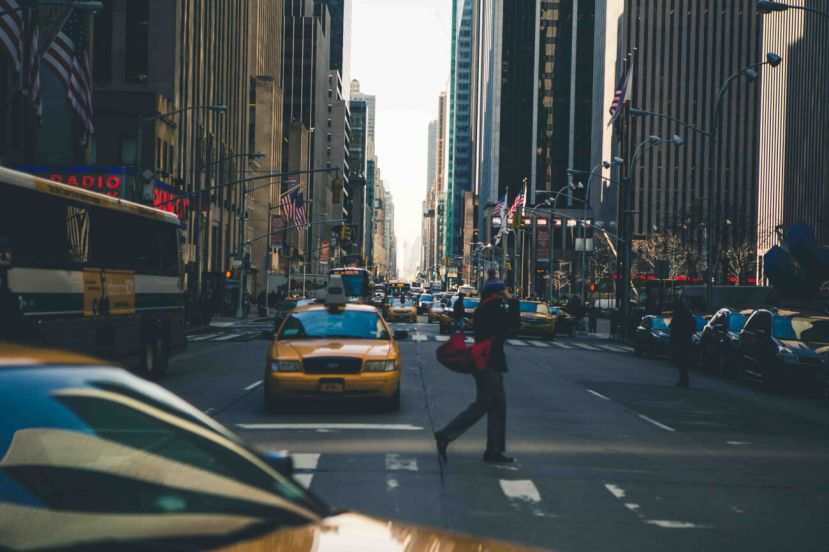 Crossing NYC Intersection