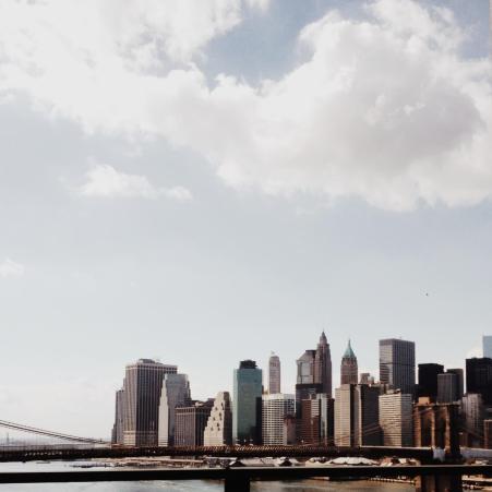 Manhattan in winter