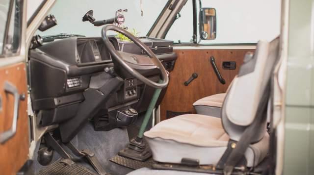Ripley the Syncro cockpit