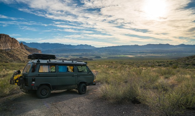 Vanagon Syncro Big Bend Texas