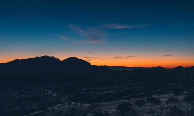 Sunrise in Big Bend