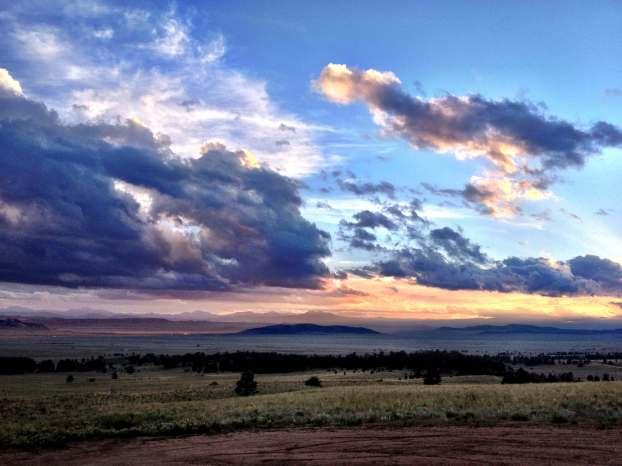 Sunset in Moab, Utah