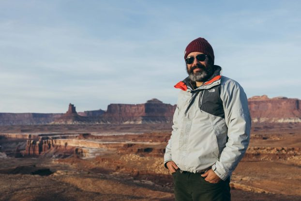 Jorge in Canyonlands